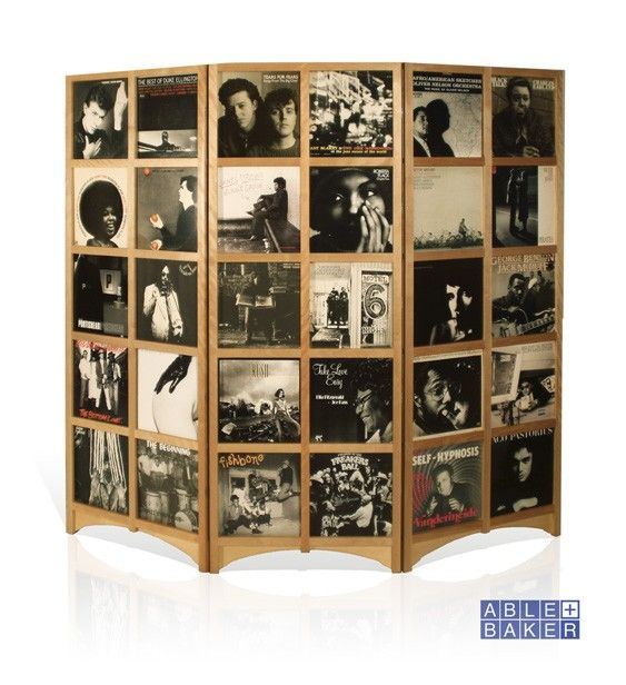 Lp Room Divider Holds 60 12inch Records Room Divider Record Room Room