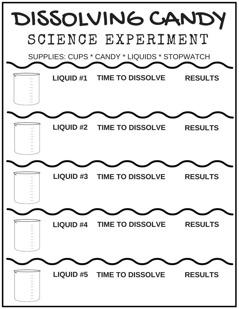 hight resolution of Free Science Worksheets For Kids   Science worksheets