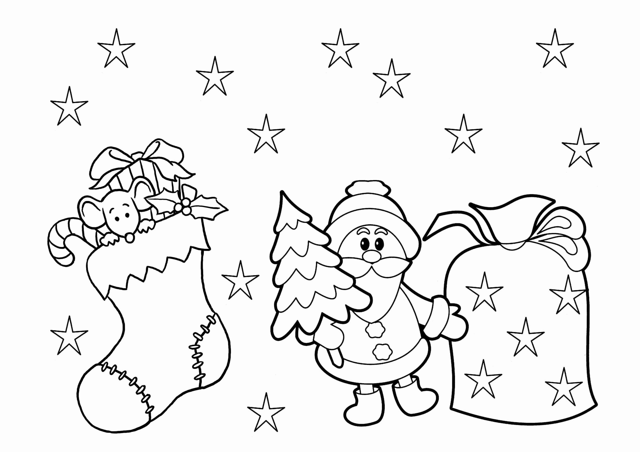 Holiday Coloring Pages Printable In