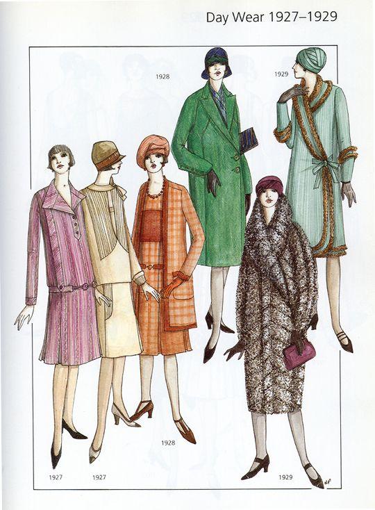 Day Wear 1927-1929 \
