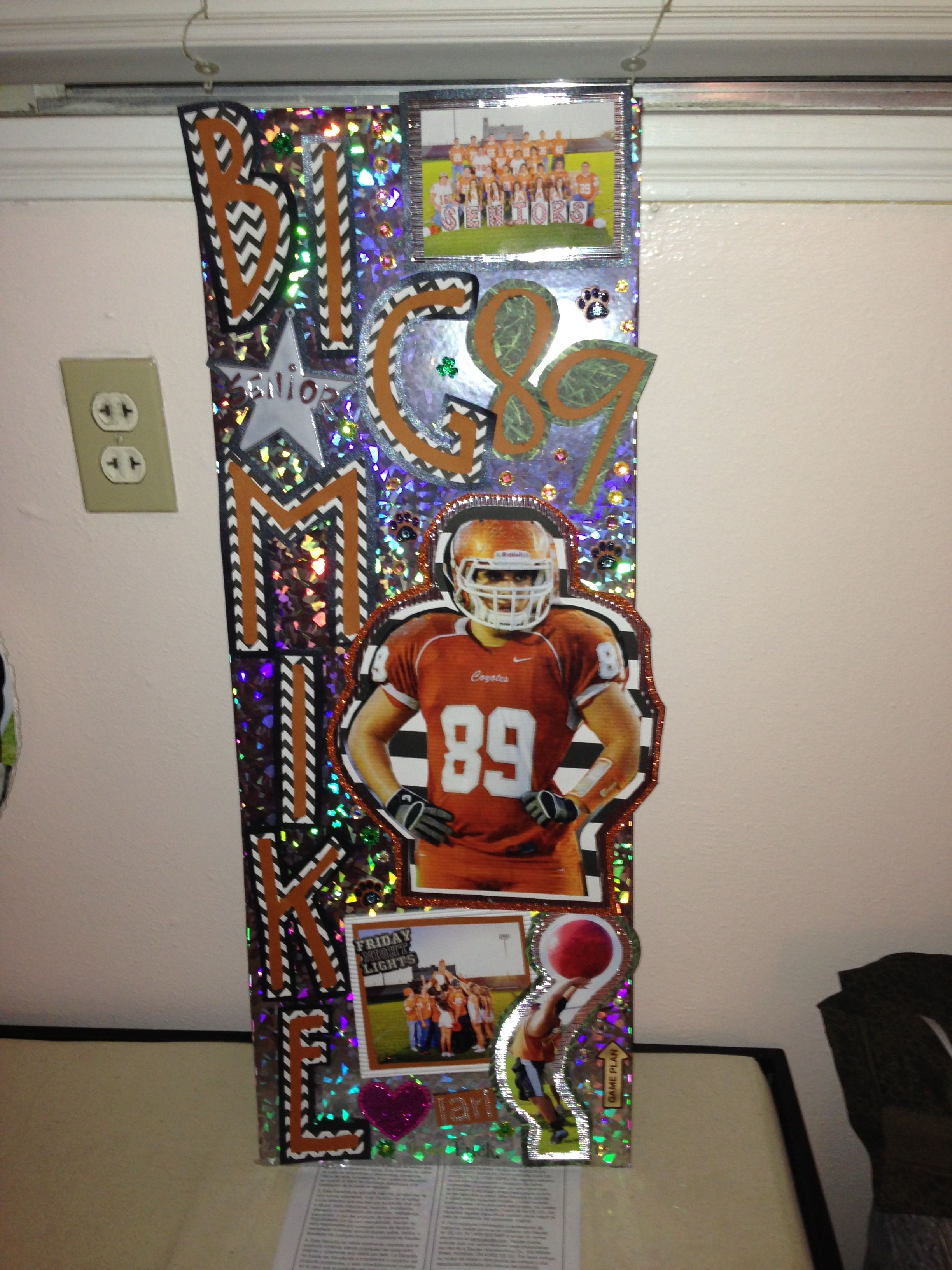 First Football Locker Decoration of the Year. 2014 ...