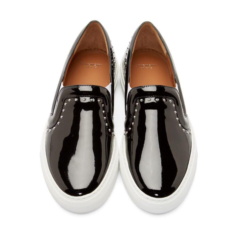 Givenchy Black Skate Slip-On Studded Sneakers