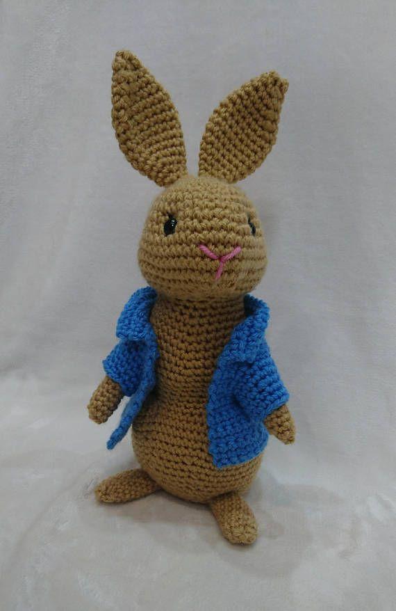 Crochet Pattern Pepper Rabbit Crochet Amigurumi Pattern Easy