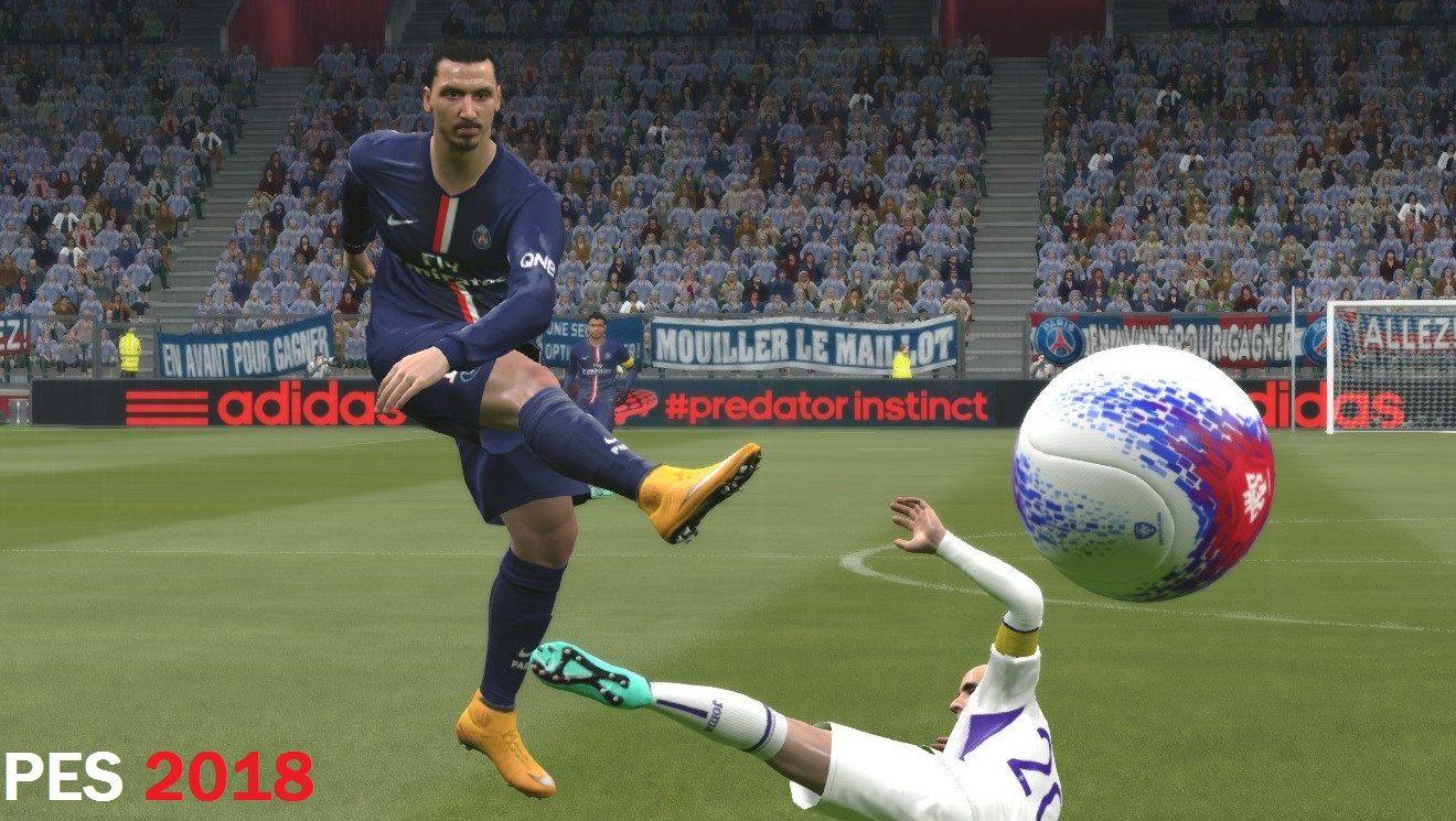 Скачать футбол на компьютер бесплатно pes 2018