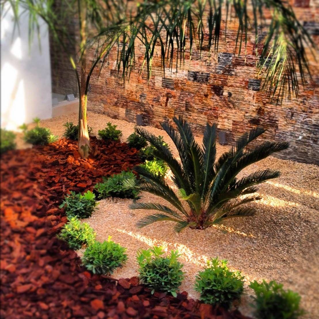 Jardines modernos con piedras buscar con google urban - Jardines modernos ...
