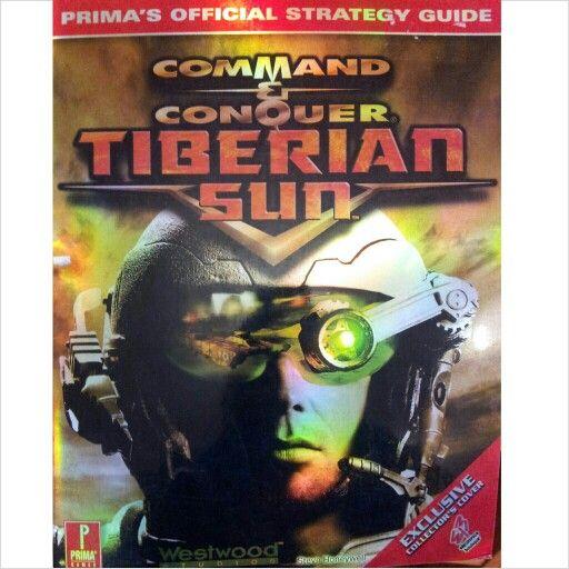 Guia Del Juego Command Conquer Tiberian Sun Command And Conquer Comic Book Cover Comic Books