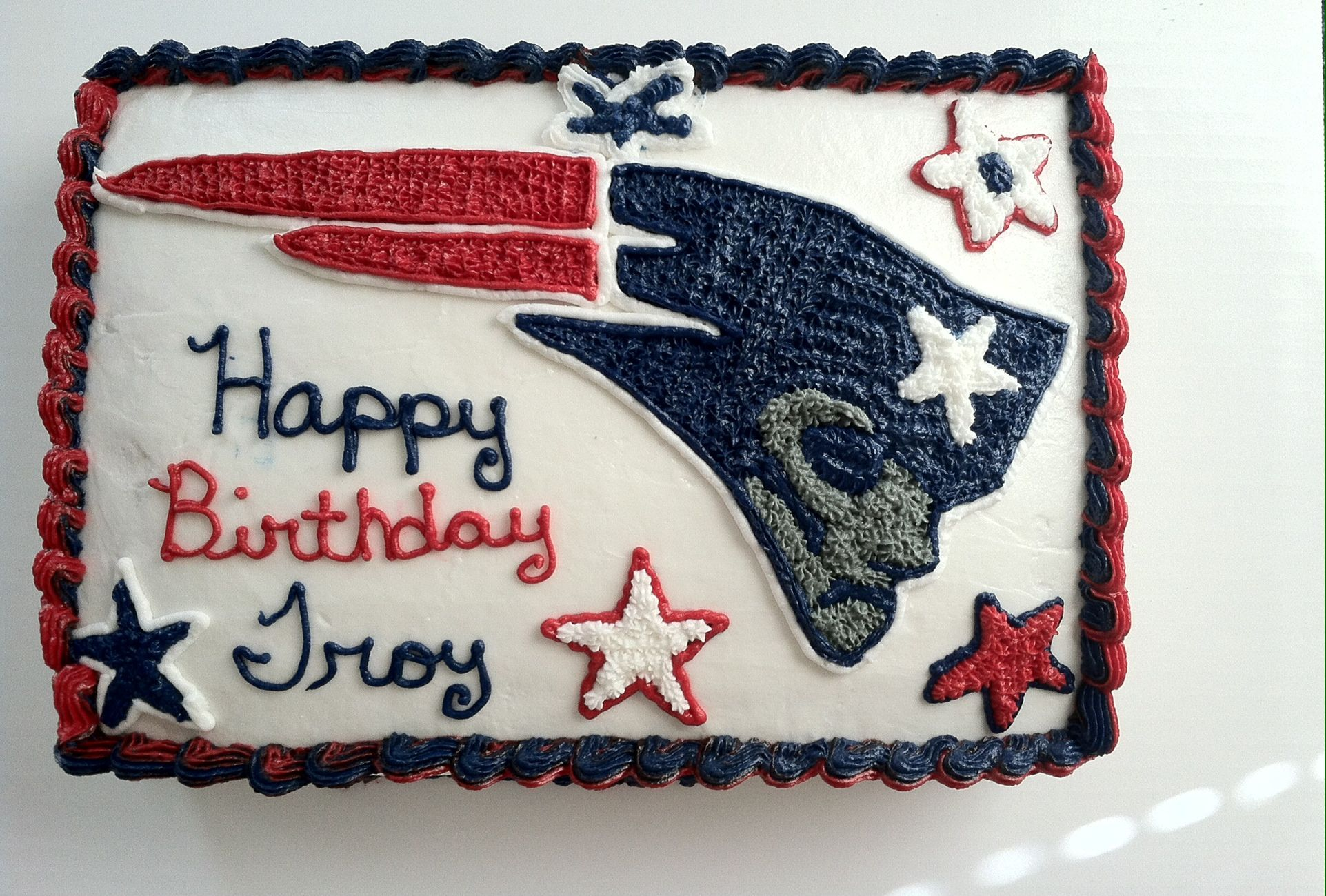 Pin By Melissa Rogers On Food And Drinks Patriotic Cake Cake Game Day Food