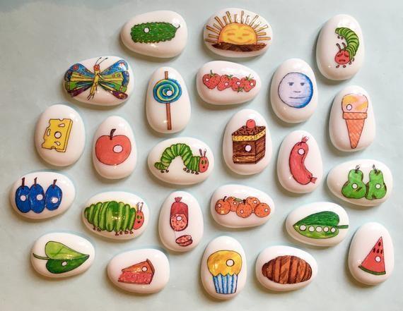 Hungry Caterpillar Story Stones