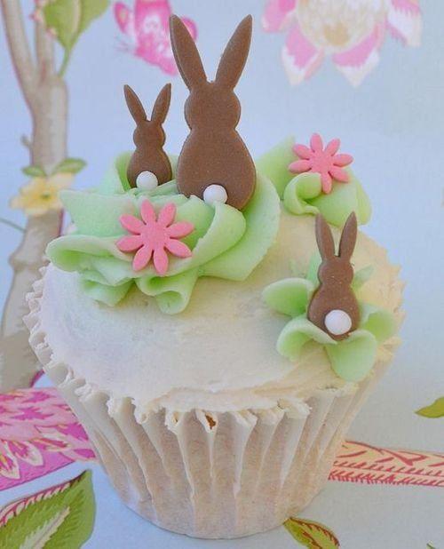 Ostern Backen, Cupcake Kuchen