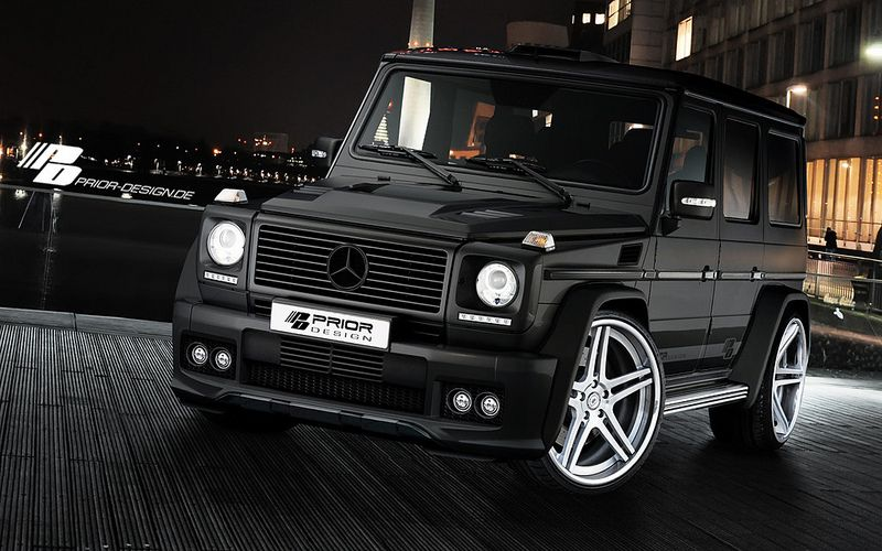 Mercedes Benz G Class W463 Wide Body Aerodynamic Kit Prior