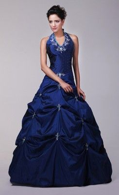 Royal Blue Prom Dress Under 100