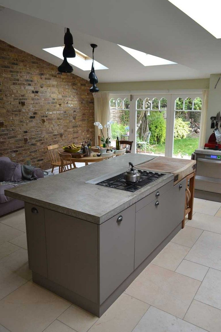 Overview Of Cast In Situ Polished Concrete Worktop