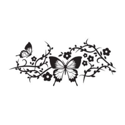 "Style and Apply Butterfly Mesh Wall Decal Size 40"" H x 99"