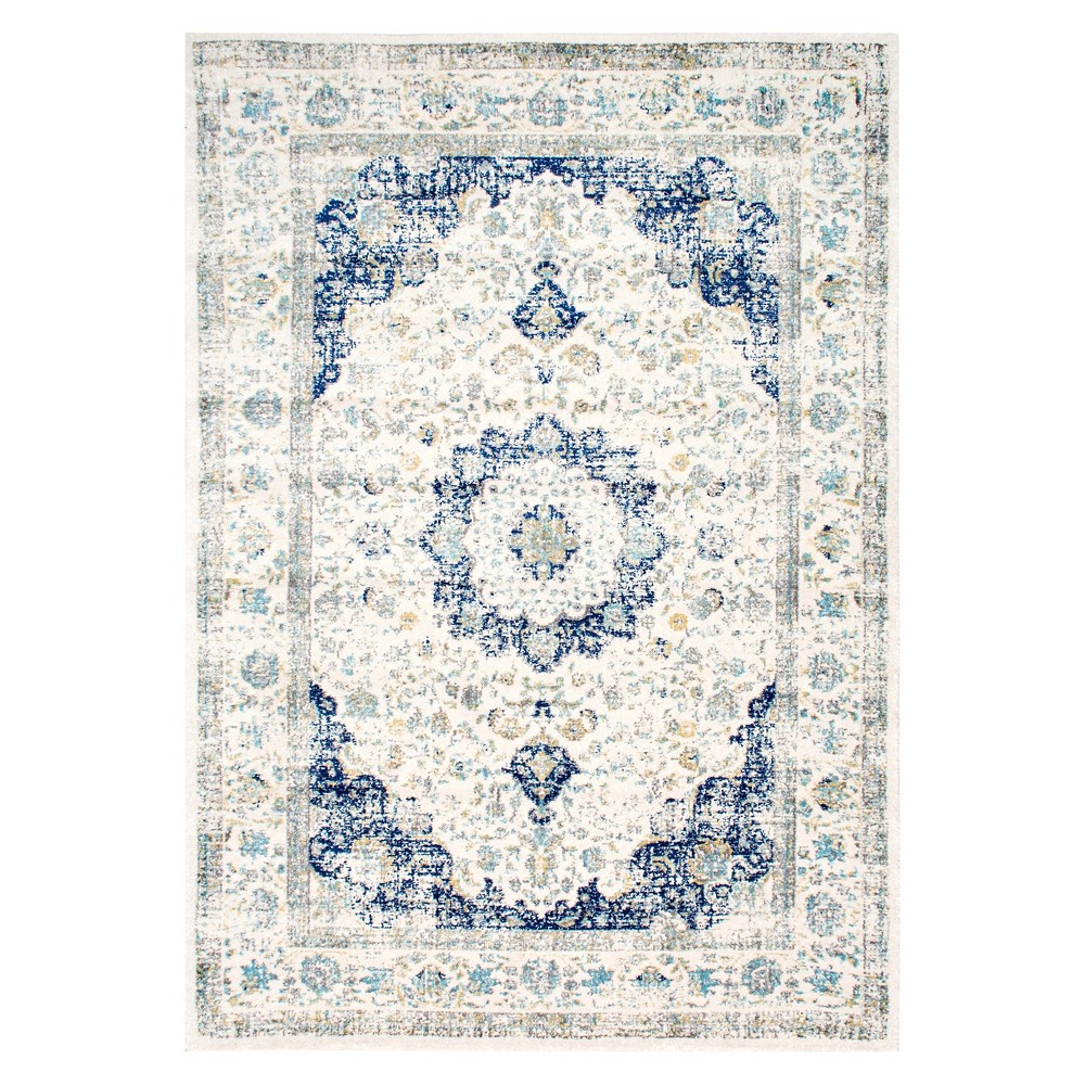 The Nuloom Machine Made Verona Rug Is An Ornate Rug With A