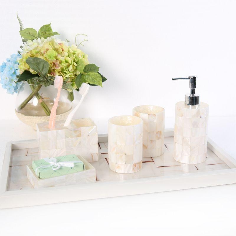 Bathroom Ornaments For White