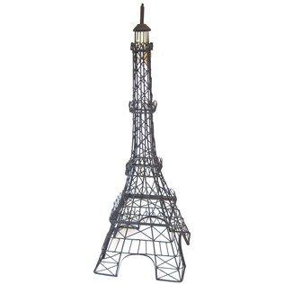 Black Metal Eiffel Tower Decor