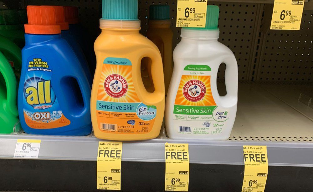 Arm Hammer Laundry Detergent Buy 1 Get 2 Free At Walgreens