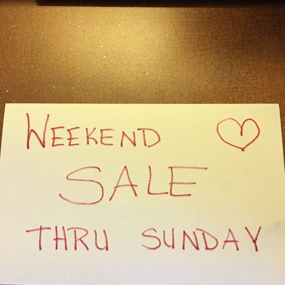 ❤️❤weekend ️SALE❤️❤️ Yay! Other