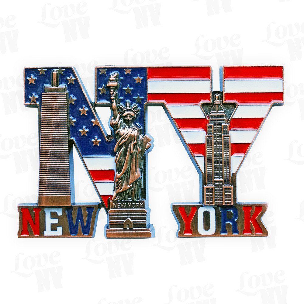 Herz New York Groß Kühlschrank Magnet I Love Ny