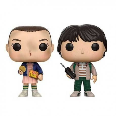 figuras funko pop stranger things eleven with eggos mike. Black Bedroom Furniture Sets. Home Design Ideas