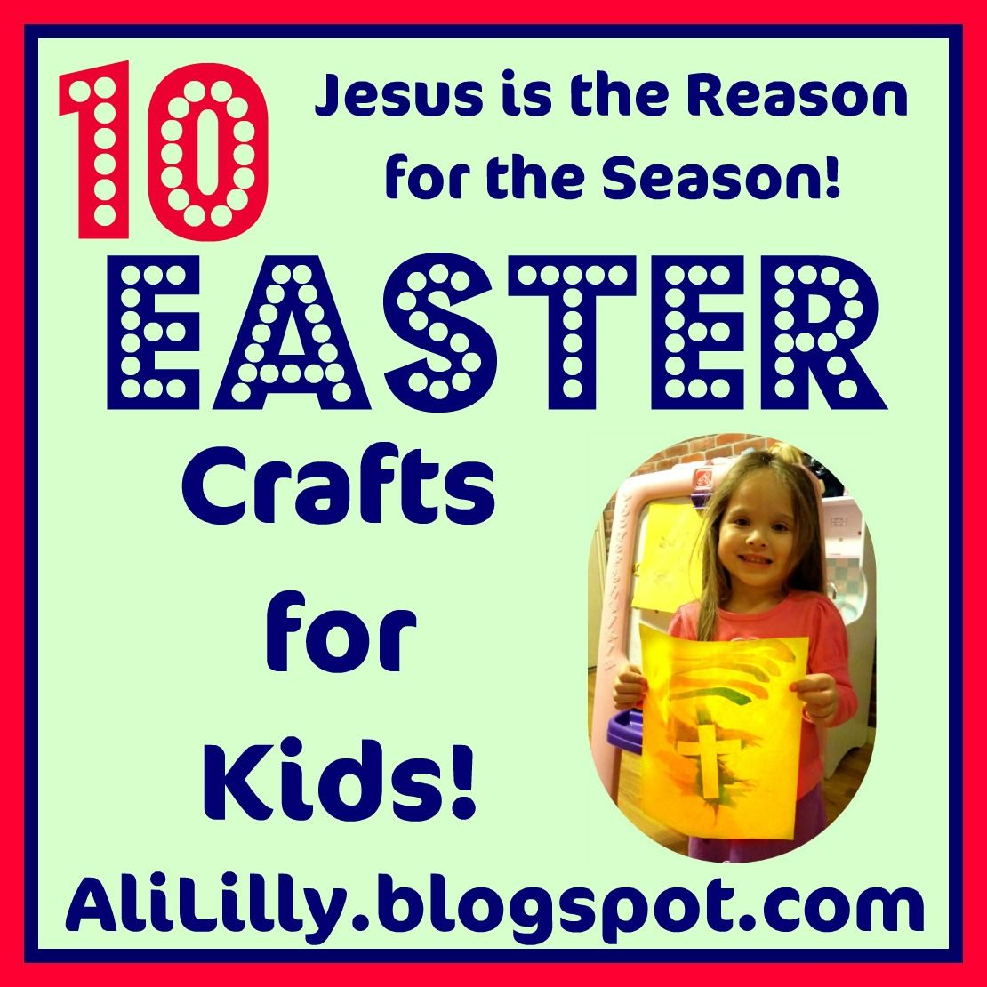 10 Faith Based Easter Crafts for Kids at AliLilyBlog.com | CRAFT ...