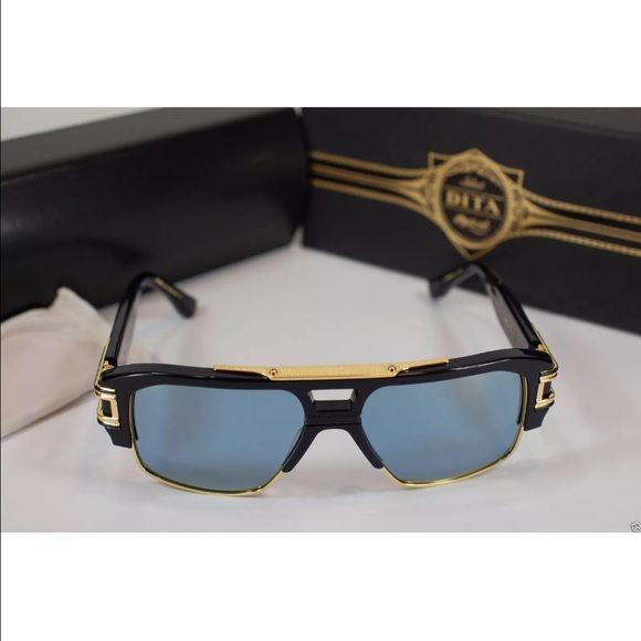 6f5fb30a6bf2 Nwt Dita grandmaster 18k gold sunglasses DITA GRANDMASTER FOUR DRX -2060-B  -NVY