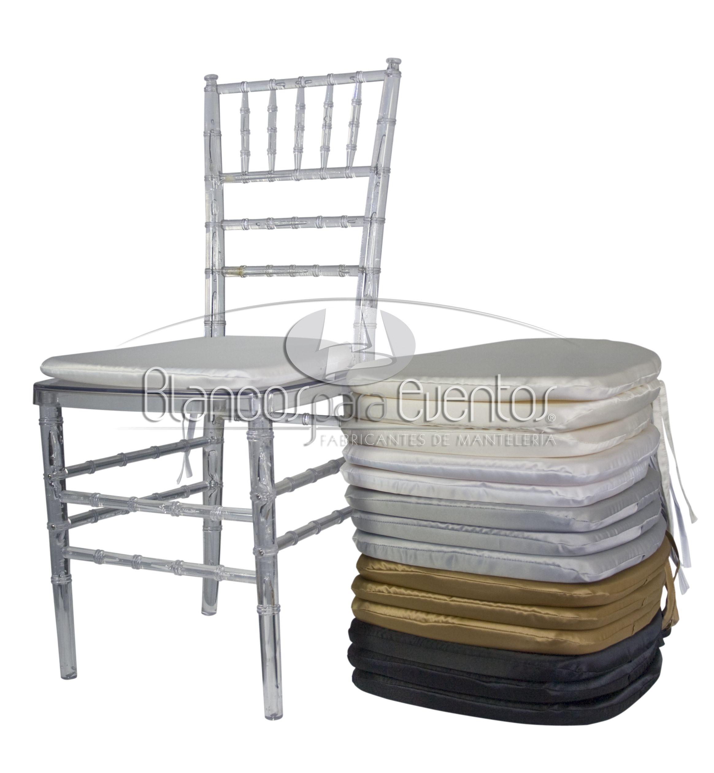 Forro para cojines silla tiffany cubre respaldos pinterest silla tiffany sillas y manteler a - Faldones para sillas ...