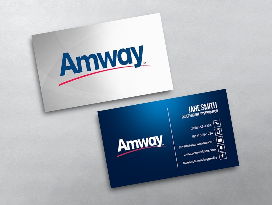 Amway Business Card 01 Amway Business Amway Stunning Business Cards