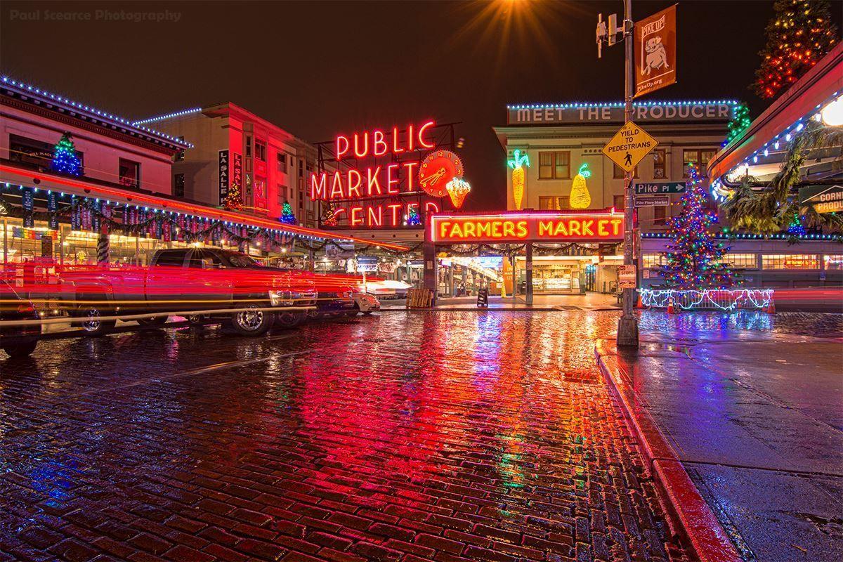 Pike Place Market - Seattle, WA.