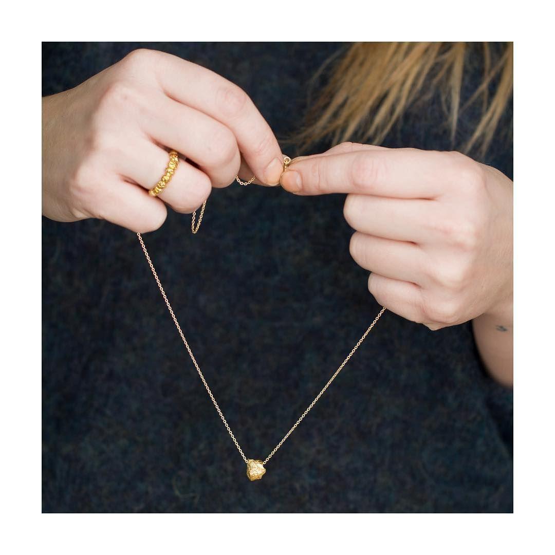 """115 Likes, 3 Comments - Haslajewelry (@haslajewelry) on Instagram: """"Ring og kjede frå ny kolleksjon.✨#haslajewelry #haslasmykker #smykker #news #nytt #nykolleksjon…"""""""
