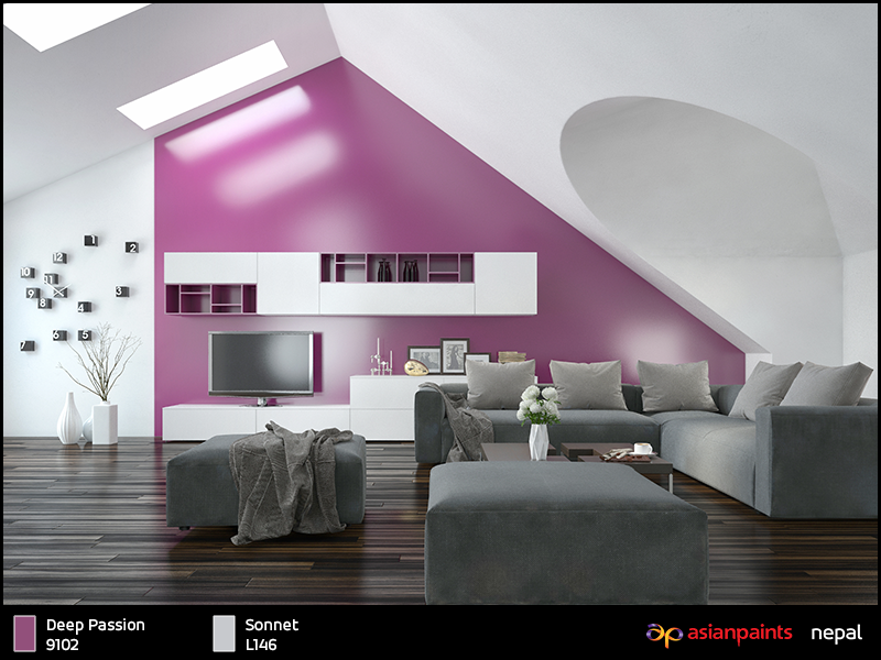 Asian Paints Nepal Offers Thousands Of Shades Of Colors For Interior And Exterior Wall Paints Choose The Best Cool House Designs Home Staging Decorating Tips