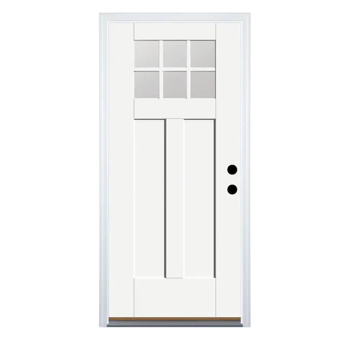 Therma Tru Benchmark Doors 36 In X 80 In Fiberglass Craftsman Left Hand Inswing Ready To Paint Unfinished Prehung Single Front Door Brickmould Included Lowes Co In 2020 Therma Tru Entry Doors Craftsman Front Doors Find out a wide selection of the best exterior and interior doors from lowes. pinterest