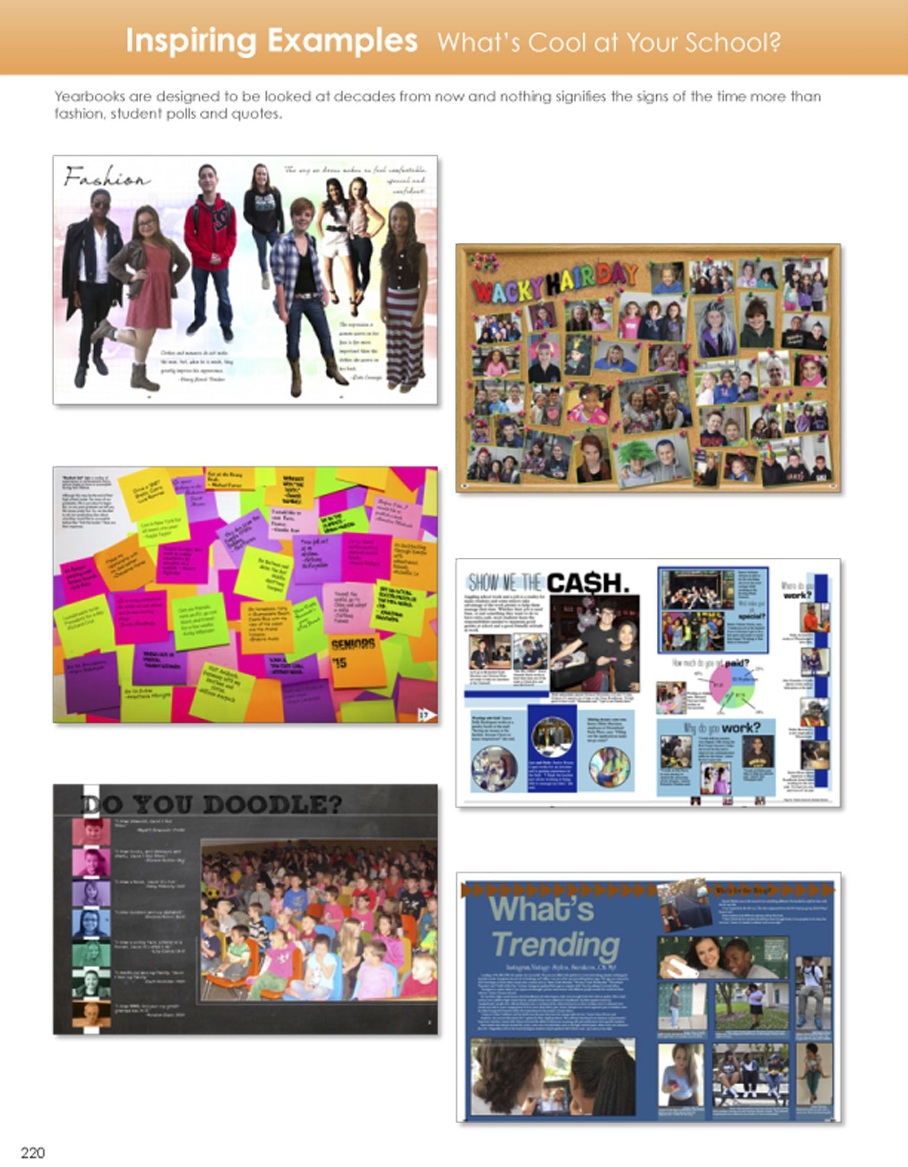 page examples yearbook page samples pinterest yearbooks