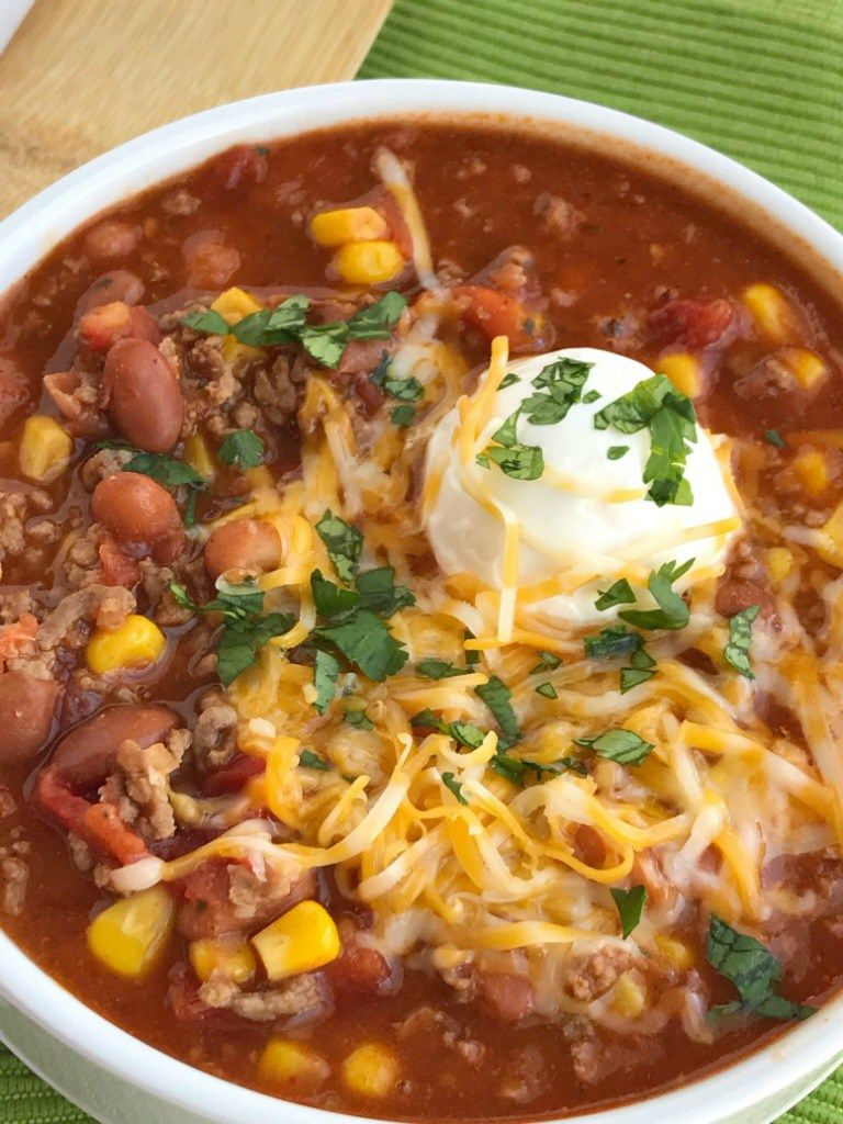Simple Taco Soup Taco Soup Recipe Ground Beef Recipe Taco Soup Has All The Flavors Of A