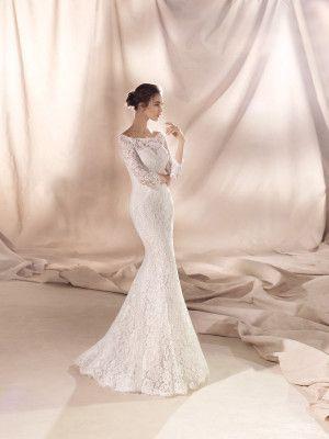 SIA Brautkleid aus Spitze | Wedding dresses | Pinterest | Mermaid ...