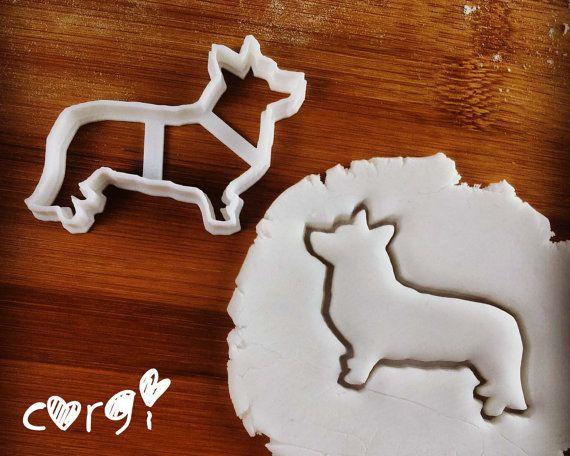 Dog cookie cutter | biscuit cutter | fondant cutter | clay cheese cutter - Corgi, Chihuahua, Dachshund, Greyhound | one of a kind ooak