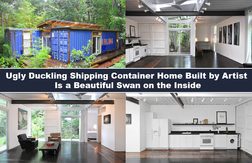 Inside Container Homes ugly duckling shipping container home builtartist is a