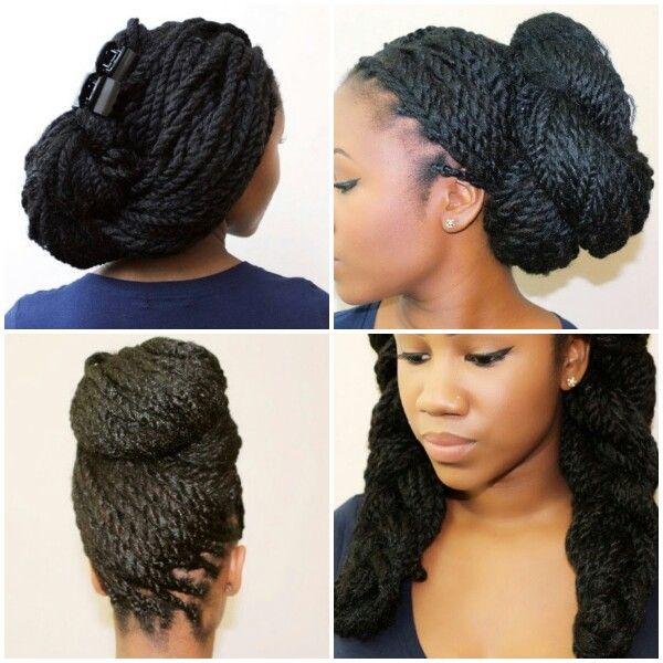 Kinky Twist Braids | Never Enough Styles. | Pinterest | Box braids ...