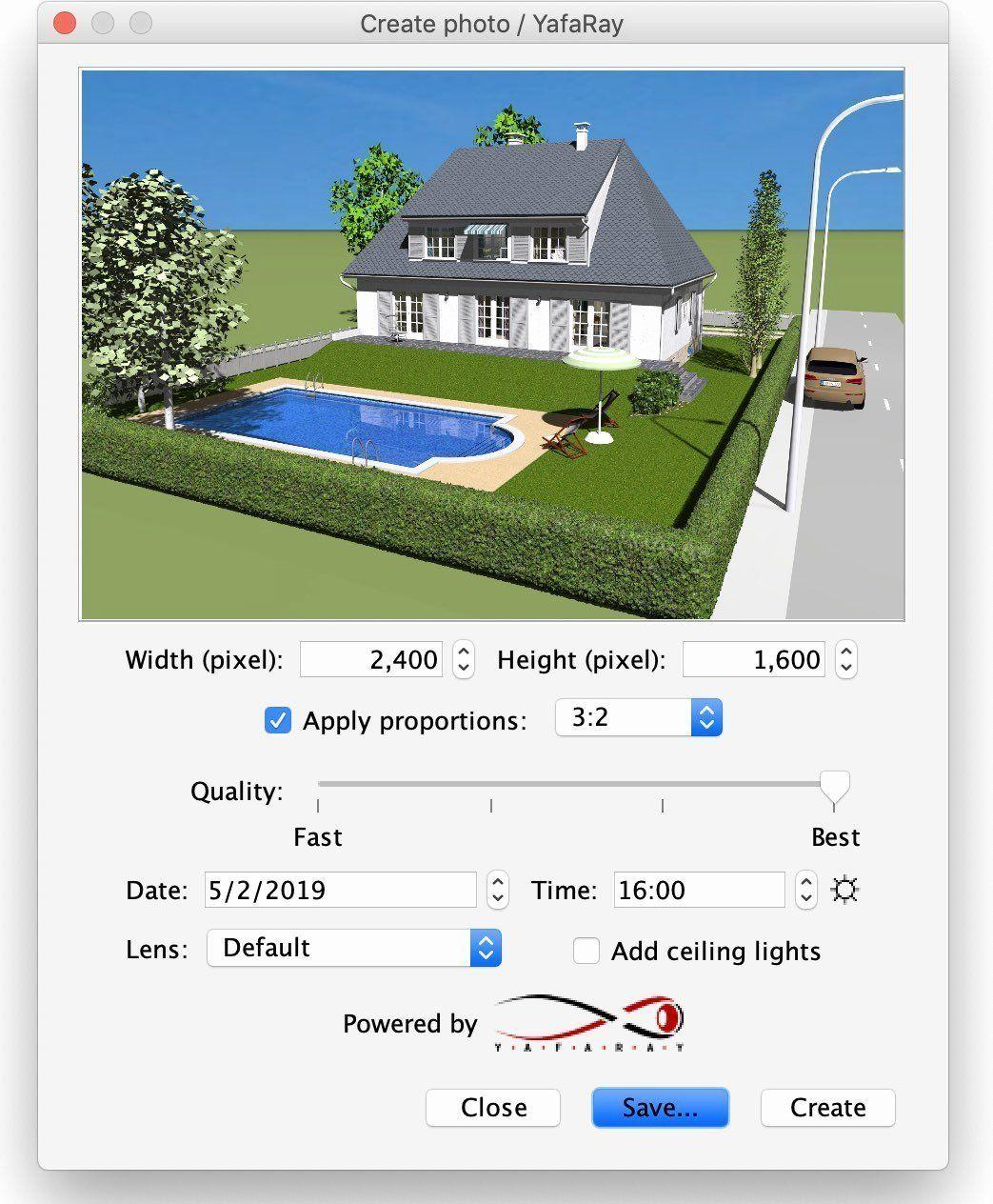 3d Sweet Home Design Free Download Full Version Beautiful Yafaray Rendering Plug In Sweet Home 3d Blog Sweet Home Design House Design Free Design