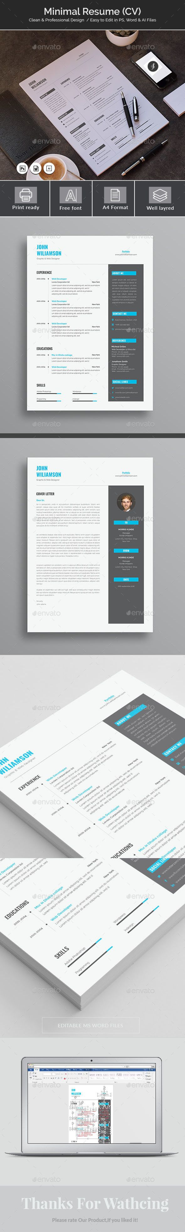 Resume curriculum vitae resume template u2022 Download