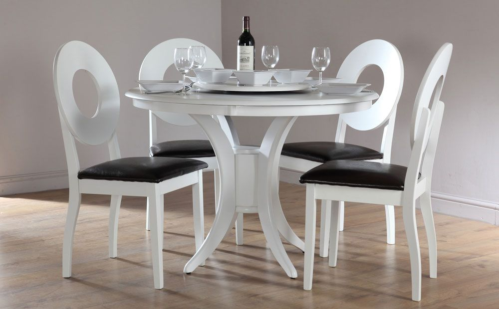 Black And White Dining Table Set Wonderful Round Dining Room