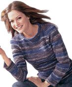 Knitted Sweater LM0112 | Free Patterns | Yarn