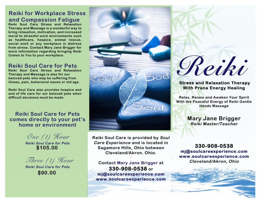 Reiki Business Brochures Google Search Compassion