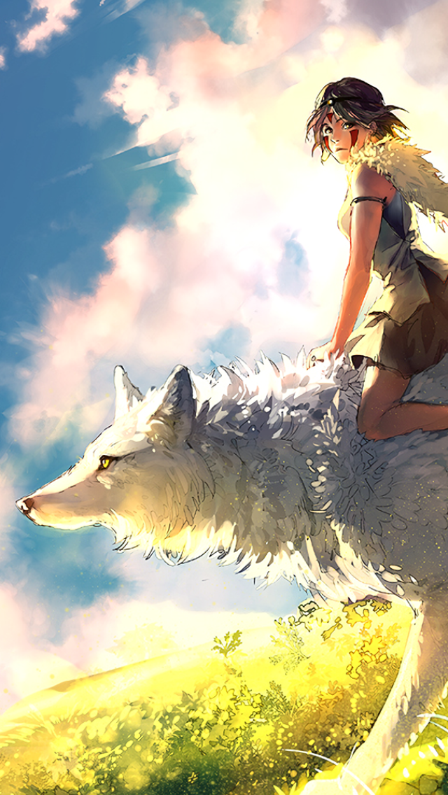 Download This Wallpaper Movie Princess Mononoke 640x1136 For All Your Phones And Tablets Princess Mononoke Art Studio Ghibli Art Studio Ghibli Fanart