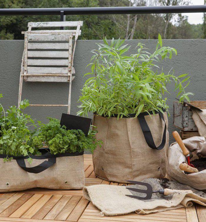 plantes aromatiques sur un balcon comment les entretenir jardin rocaille pinterest. Black Bedroom Furniture Sets. Home Design Ideas