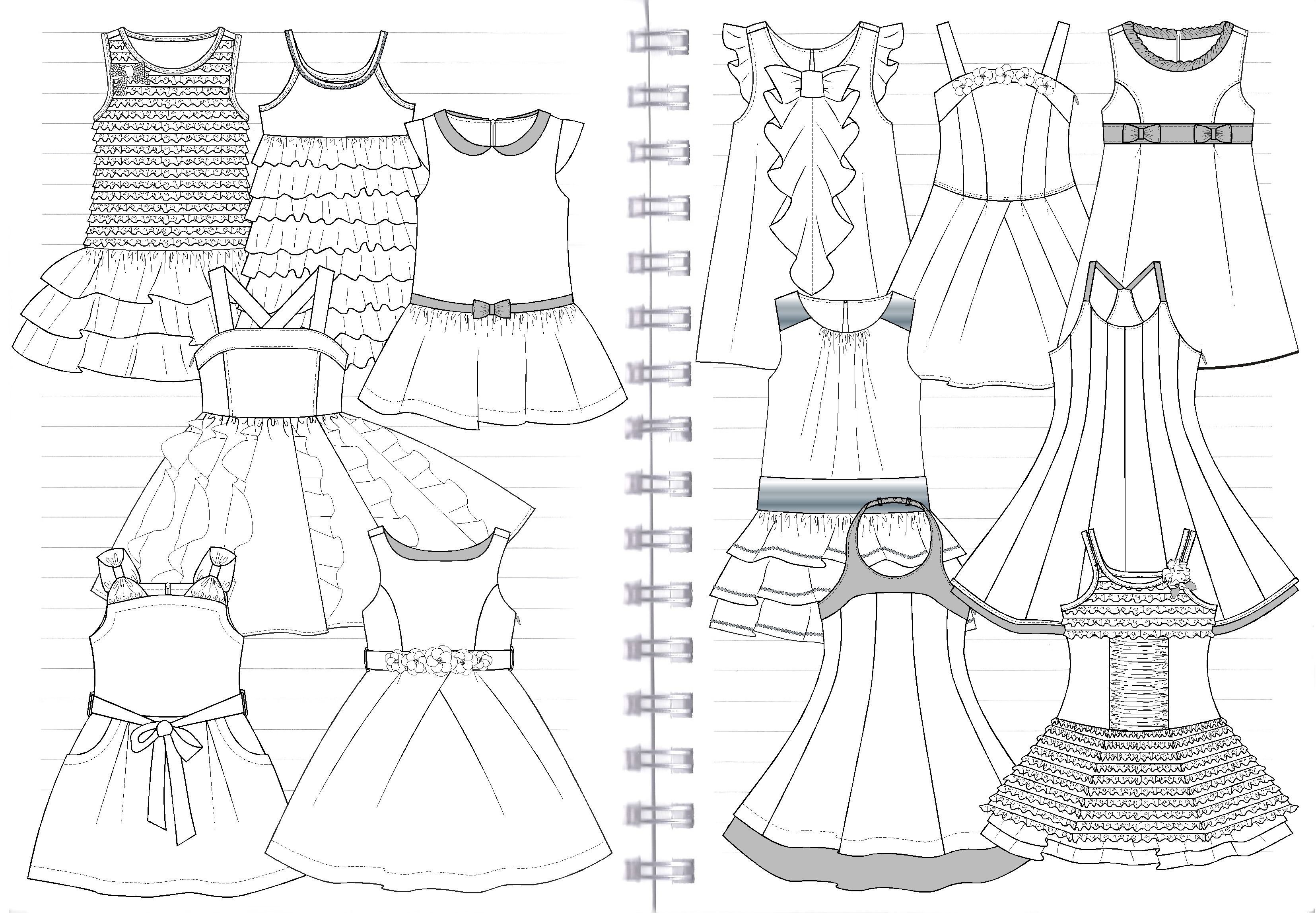 Pin By Jenny Ting On Portfolio 2 Designstudiofourteen Children Fashion Illustration Children Fashion Sketch Kids Garments