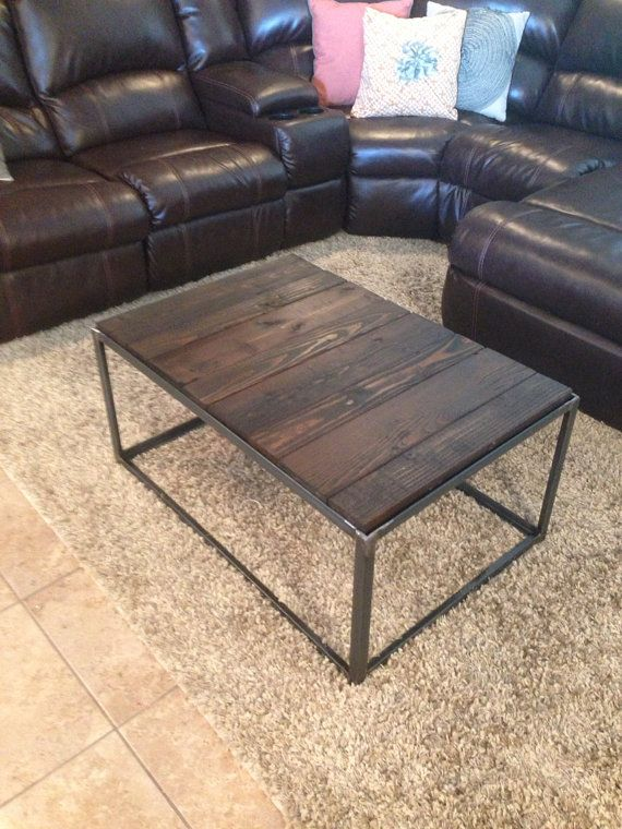 Iron Box Industrial Angle Iron Coffee Table By RestorationCrown, $150.00