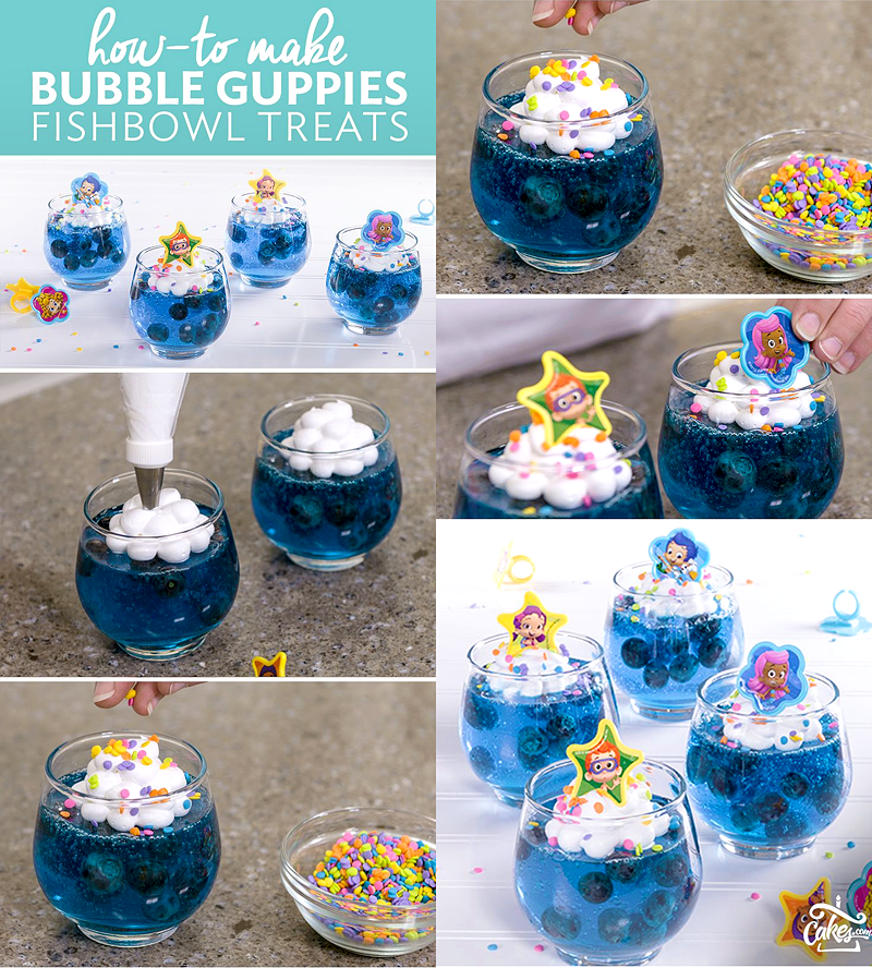 Bubble Guppies Party Food Ideas Brownie Bites Blog Bubble Guppies Party Bubble Guppies Birthday Party Bubble Birthday Parties