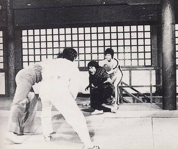 Behind the scenes of The Game of death