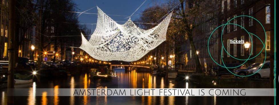 Book A Combination Ticket Canal Cruise Amsterdam Light Festival You Will See 20 Light Sculptures Along The Watercolours Route And Extra Time On The Herengr